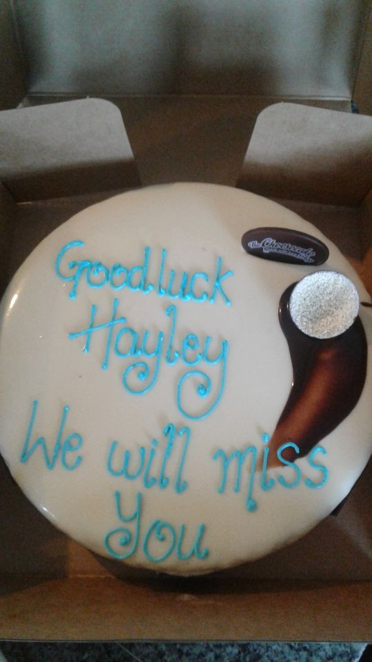 Goodbye to Hayley