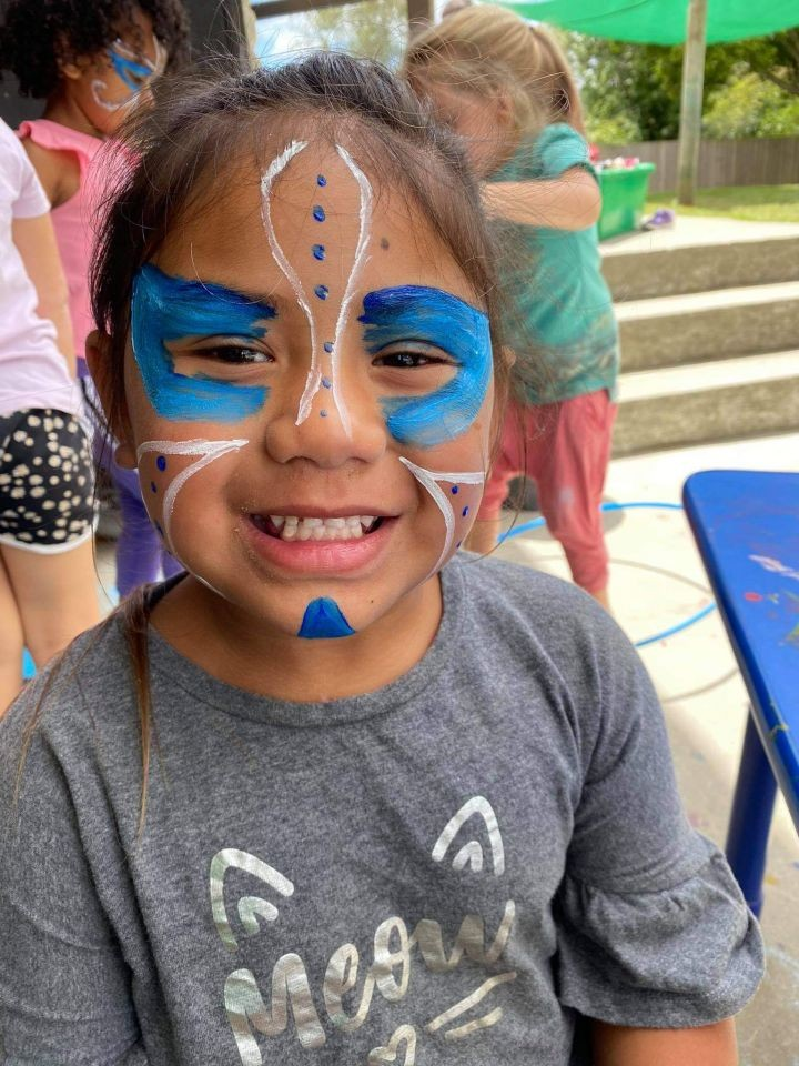 Face Painting is so much fun.